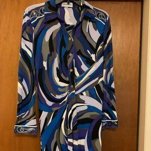 Emilio Pucci Dress (fits more like a medium 10).